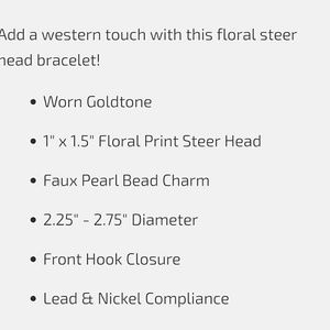 Tipi Jewelry - 💎BOGO Western Steer Head Latch Bangle Bracelet
